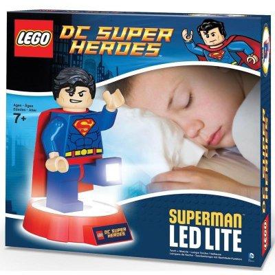 Товар почтой Игрушка /фонарь LEGO DC Super Heroes Superman LGL-TOB20