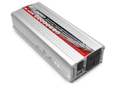 Товар почтой Автоинвертор AVS IN-1500W преобразователь с 24 В на 220 В 80325