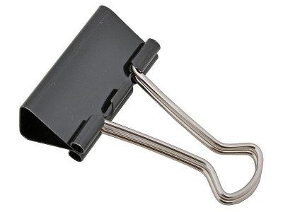 Товар почтой Зажим Alco Foldback-Clips для бумаг 32 мм черный 783-11
