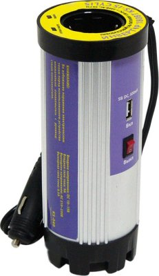 Товар почтой Автомобильный преобразователь напряжения KS-is Cylis , 180W, DC (12V) / AC (220V), (KS-049)
