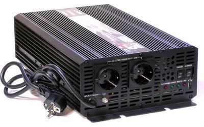 Товар почтой Автоинвертор AcmePower AP-UPS2500/12 (2500 Вт) преобразователь с 12 В на 220 В