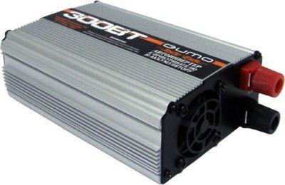 Товар почтой Автоинвертор Qumo PS-300 (300 Вт) преобразователь с 12 В на 220 В c USB