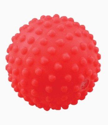 """Товар почтой Зооник гр Игрушка для собак """"Мяч игольчатый 1"""", 5,3 см, винил (СИ 68)"""