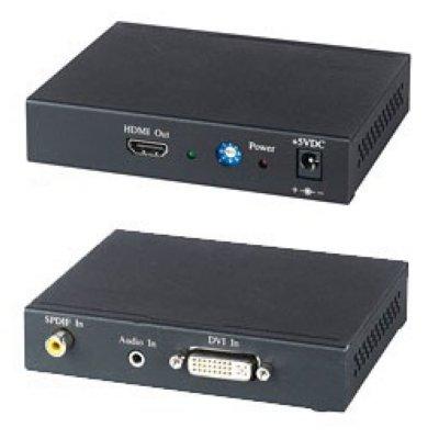 Товар почтой SC&T DH01 SC&T DH01 Преобразователь DVI- и аудиосигнала в HDMI- c игнал