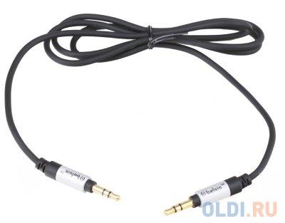 Товар почтой Кабель 3.5M/3.5M 1 м Belsis SM1861 Sparks Smart Manager, межблочный audio 3.5 мм jack/jack