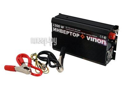Товар почтой Автоинвертор Vinon 1200 Вт преобразователь с 12 В на 220 В