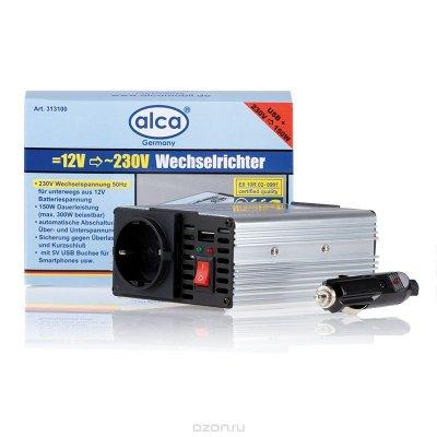 """Товар почтой Инвертор """"Alca"""", 5A 12V =)230V, 150W+USB"""