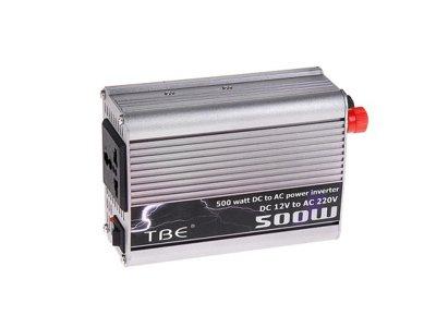 Товар почтой Автоинвертор СИМА-ЛЕНД TBE-500W 118186 преобразователь с 12 В на 220 В