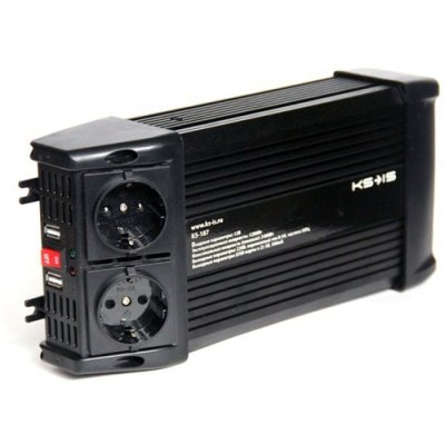 Товар почтой Автомобильный преобразователь напряжения KS?IS Otto2 (KS-187), 1200W, DC (12V) / AC (220V), от акку