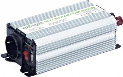 Товар почтой 300W 12V-)220V Energinie EG-PWC-002 Автомобильный преобразователь напряжения (алюминиевый корпус)