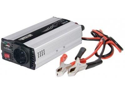 Товар почтой Инвертор Mystery MAC-500 500 Вт, 10 - 15 VDC, в коммерческой упаковке, 1 шт.
