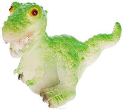 """Товар почтой Wing Crown Игрушка """"Динозавр"""" с подсветкой, цвет: зеленый, 10 см"""