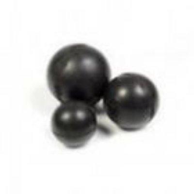 """Товар почтой Зооник гр Игрушка для собак """"Мяч цельнорезиновый черный"""" 6,5 см (16477)"""