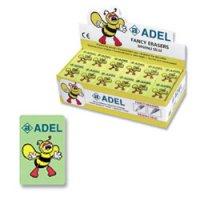 Товар почтой Ластик Bee, виниловый, 35x22,7x8,5 mm, зеленый. ADEL,