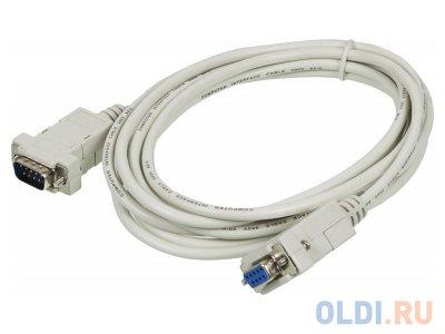 Товар почтой Кабель - удлинитель COM RS-232 1.8m 9F / 9F 30 AWG Greenconnect GC-DB9CM2F-1.8m