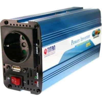 Товар почтой Titan HW-300V6 автомобильный преобразователь напряжения 12 В-230 В, 300 Вт
