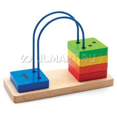 Товар почтой Игрушка деревянная МДИ Счеты перекидные малые