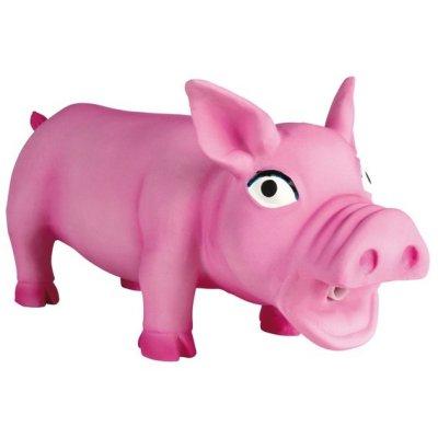 Товар почтой Trixie гр Игрушка д/собак Свинка Хрюкающая, латекс, 17 см (35490)