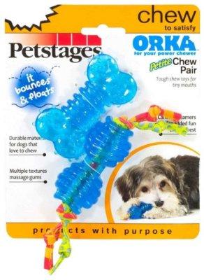 Товар почтой Гантель для собак Petstages Orka Косточка и гантеля (234STEX) синий