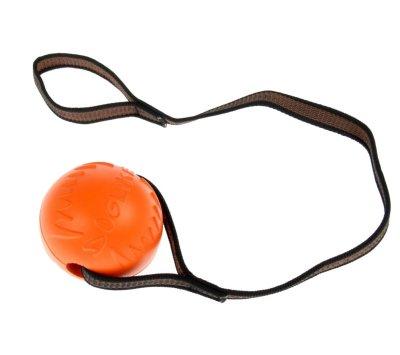 Товар почтой Игрушка Doglike Мяч с лентой средний Orange