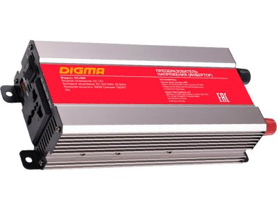 Товар почтой Автомобильный инвертор напряжения Digma DCI-800 800 Вт
