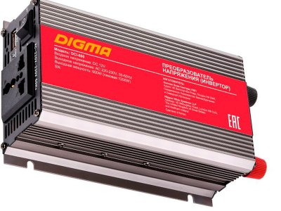 Товар почтой Автоинвертеры Digma DCI-600