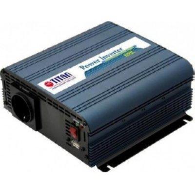 Товар почтой Titan HW-600V6 автомобильный преобразователь напряжения 12 В-230 В, 600 Вт