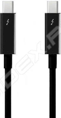 Товар почтой Кабель Apple Thunderbolt to Thunderbolt Cable 2 м, Черный MF639ZM/A