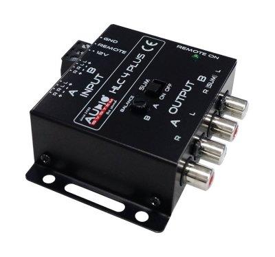 Товар почтой Усилитель автомобильный Audio System Преобразователь RCA сигнала HLC4 Plus