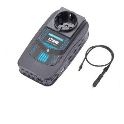 Товар почтой Автоинвертор PowerAce PI120 USB преобразователь с 12 В на 220 В