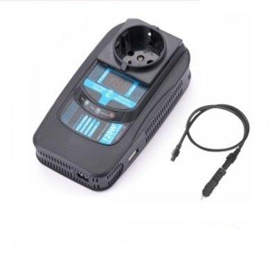 Товар почтой Автоинвертор PowerAce PID120 Digital Display +USB преобразователь с 12 В на 220 В