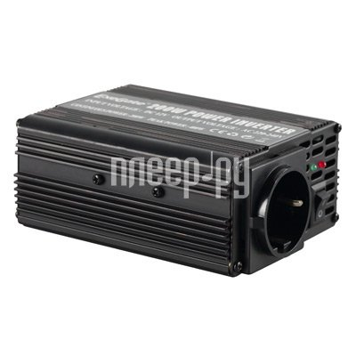 Товар почтой Автоинвертор ExeGate 200w Power Inverter (200 Вт) преобразователь с 12 В на 220 В