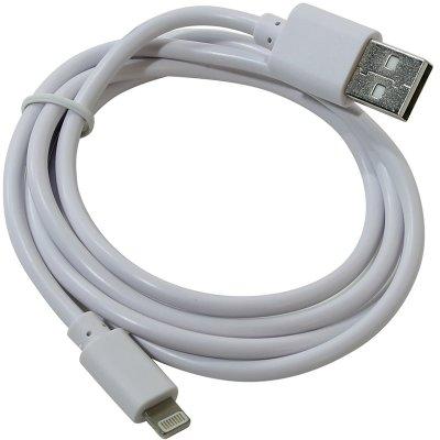 Товар почтой Кабель Apple Lightning коннектор --) USB2.0, 1.0m, белый, KS-is (KS-284W)