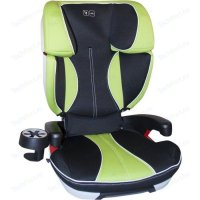 Товар почтой ABC Design Кресло в авто ABC Design Travel Fit I-Fix Green/Black BS09-T