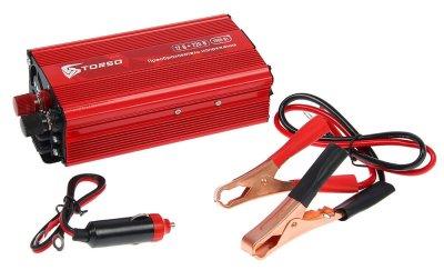 Товар почтой Автоинвертеры TORSO TP-12-1000 (1000 Вт) 1410970 с 12 В на 220 В