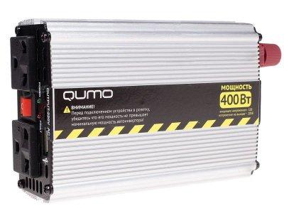 Товар почтой Qumo PS-400 (400 Вт) преобразователь с 12 В на 220 В 16582