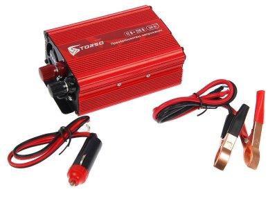Товар почтой Автоинвертеры TORSO TP-12-500 (500 Вт) 1410969 с 12 В на 220 В