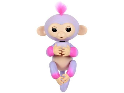 Товар почтой Игрушка WowWee Fingerlings Обезьянка Сидней Purple-Pink 3721