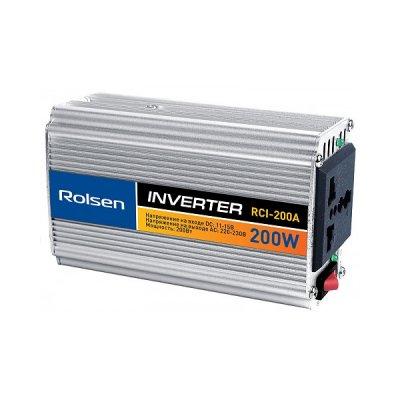 Товар почтой Автомобильный инвертор напряжения Rolsen RCI-200A 200 Вт