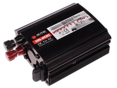 Товар почтой Автоинвертор AcmePower AP-DS200 (200 Вт) преобразователь с 12 В на 220 В