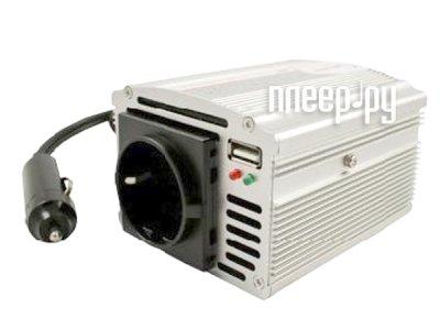 Товар почтой Автоинвертор Автоинвертор Gembird 250W USB (200 Вт) преобразователь с 12 В на 220 В