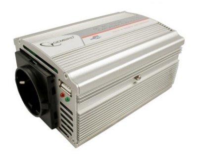 Товар почтой Автоинвертор Автоинвертор Gembird 400W USB (400 Вт) преобразователь с 12 В на 220 В
