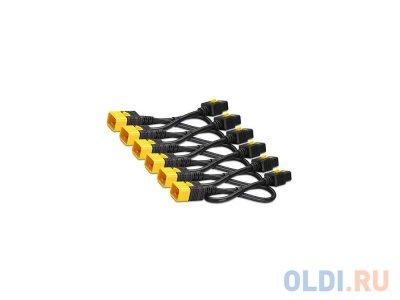 Товар почтой Кабель APC Power Cord Kit IEC 320 C19 to IEC 320 C20 1.2 м 6 шт AP8714S