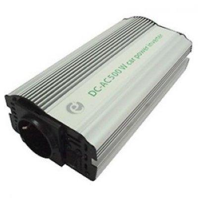 Товар почтой Автоинвертор Energenie EG-PWC-033 500W USB (500 Вт) преобразователь с 12 В на 220 В