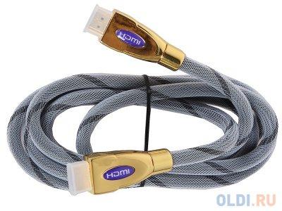 Товар почтой Кабель 3Cott HDMI высшей категории 19M/M 3C-HDMI-029GPMPNM-1.8M, Версия 1.4, 3D + Ethernet, 30AWG, п
