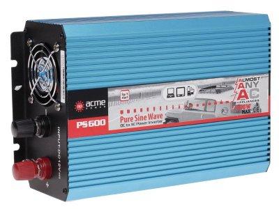 Товар почтой Автоинвертор AcmePower AP-PS600/12 (600 Вт) преобразователь с 12 В на 220 В