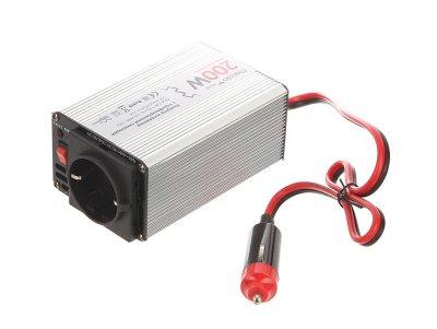 Товар почтой Автоинвертор Relato MS200 (200 Вт) с 12 В на 220 В