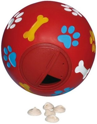 Товар почтой Trixie гр Игрушка д/собак Мяч для лакомства, пластик, 7 см - 3492