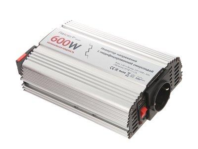 Товар почтой Автоинвертор Relato MS600 (600 Вт) с 12 В на 220 В