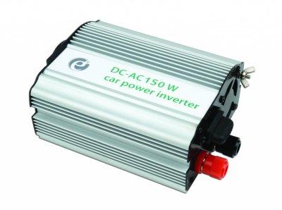 Товар почтой 150W 12V-)220V Energinie EG-PWC-001 Автомобильный преобразователь напряжения (алюминиевый корпус)